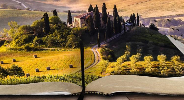 Öffne ein neues Kapitel in dem Buch deines Lebens